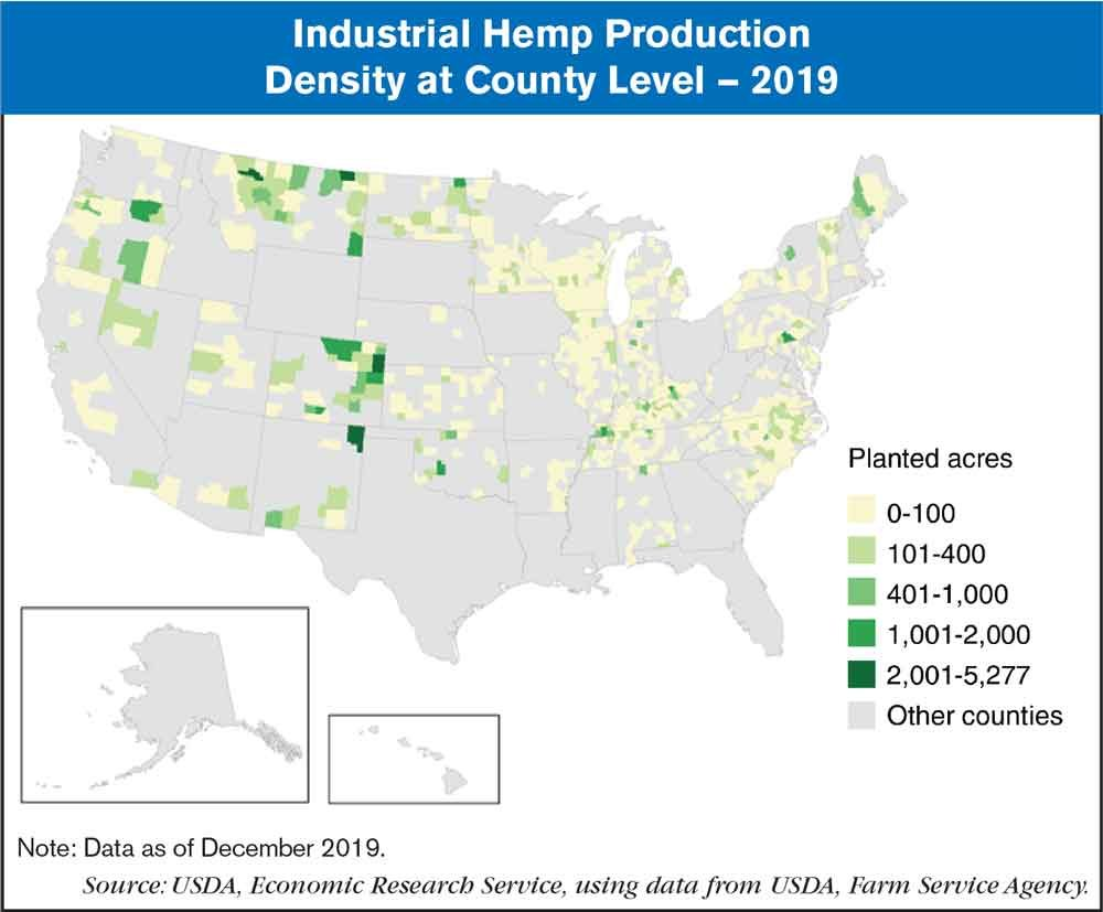 Industrial Hemp County Map revised
