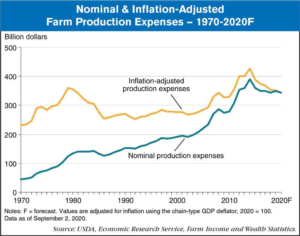 farm production forecast 2020