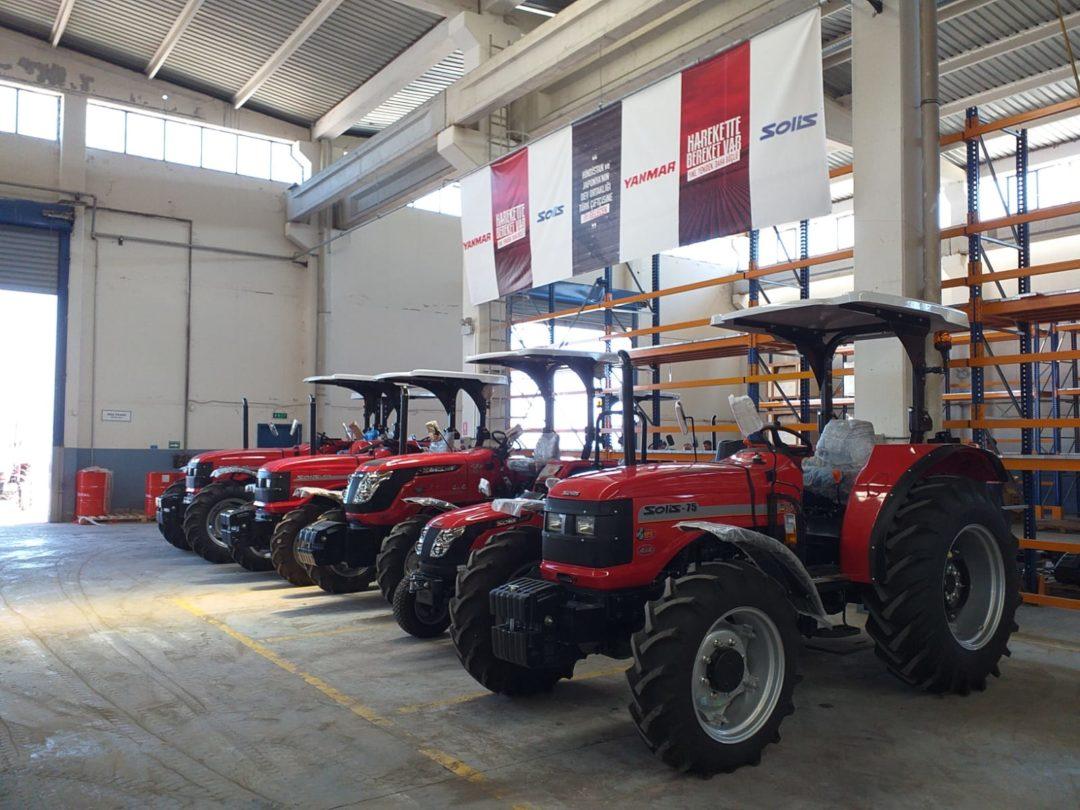 solis traktor factory