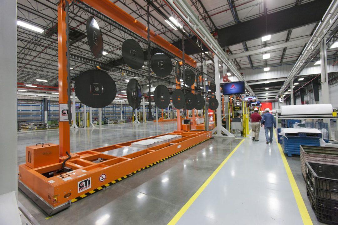 AGCO hesston plant