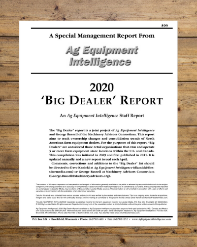 2020 Big Dealer Report Cover
