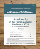 Brand Loyalty in the Farm Equipment Business -- 2020