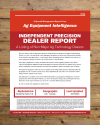 Independent Precision Dealer Report Cover