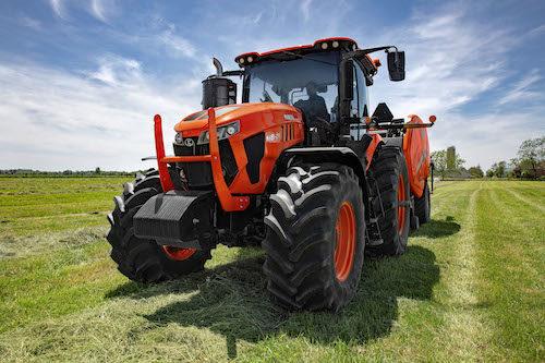 Kubota M8 Tractor Series