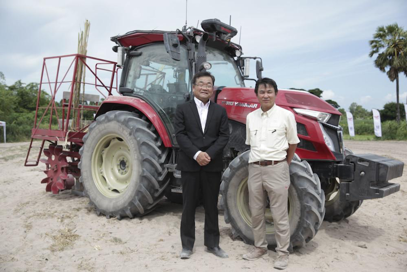 Yanmar Officials with the YT5113A