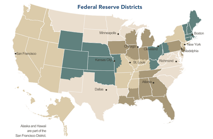 fed districts