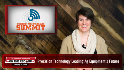 Precision Technology Leading Ag Equipment's Future