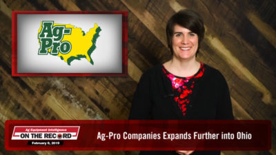 Ag-Pro Companies Expands Further into Ohio