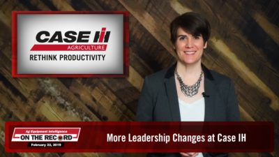 More Leadership Changes at Case IH