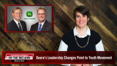 Deere's Leadership Changes Point to Youth Movement