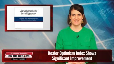 Dealer Optimism Index Shows Significant Improvement