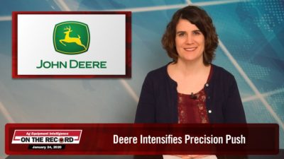 Deere Intensifies Precision Push