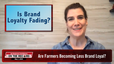 Are Farmers Becoming Less Brand Loyal?
