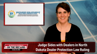Judge Sides with Dealers in North Dakota Dealer Protection Law Ruling