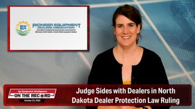 Judge Sides with Dealers in North Dakota Dealer Protection Law Ruling