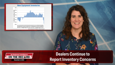 Dealers Continue to Report Inventory Concerns