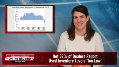 Net 32% of Dealers Report Used Inventory Levels 'Too Low'