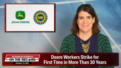Deere Workers Strike for First Time in More Than 30 Years